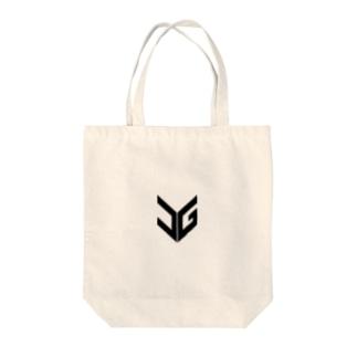 UGロゴホワイト Tote bags