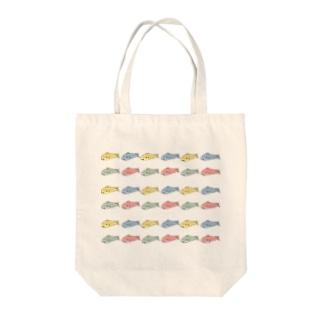サメち COLORFUL Tote bags