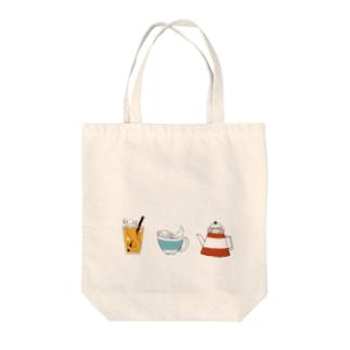 喫茶ウーパールーパーちゃん Tote bags