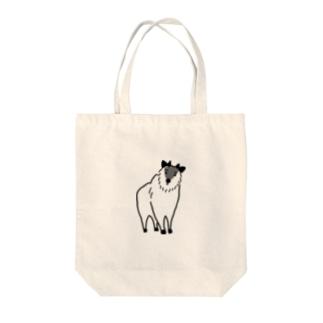 カモシカ Tote bags