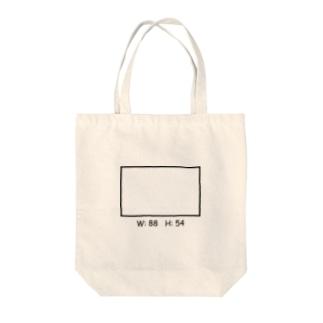 長方形 Tote bags