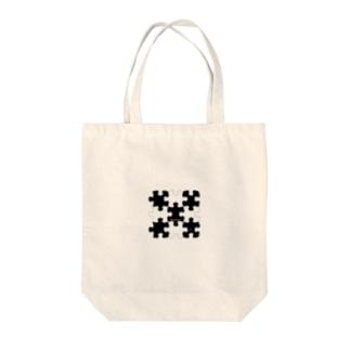 とんしゃんのパズルピースVer1 Tote bags