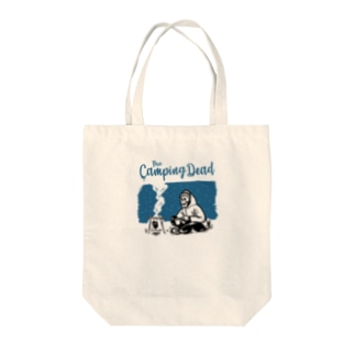 CAMP FIRE Tote bags
