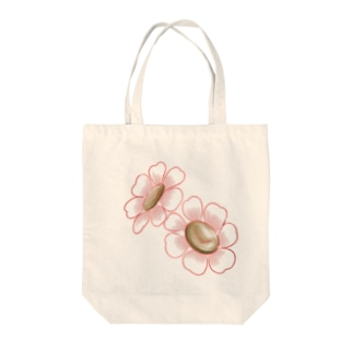 Liangの小花 Tote bags