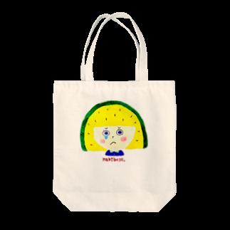 Natsumi Shirokiのすいかちゃん Tote bags