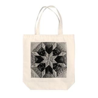 ベツレヘムの星(モノクロ) Tote bags