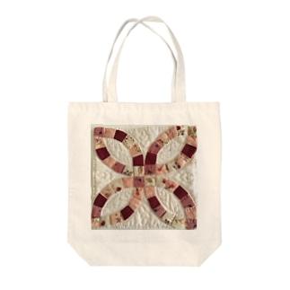 ダブルウェディングリング Tote bags