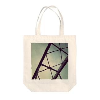 現実のかたち Tote bags