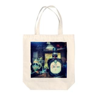 棚のオールドパー Tote bags
