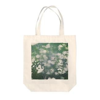 陽光の絨毯 Tote bags