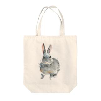 水彩風ひじちゃん Tote bags