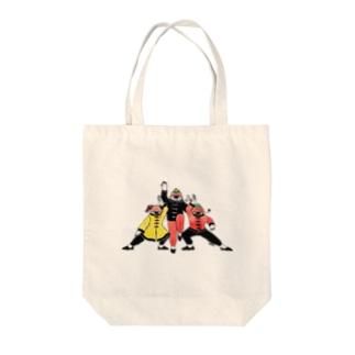 カンフーちゅんちゅん Tote bags