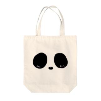Ring Eye(モノクロ) Tote bags