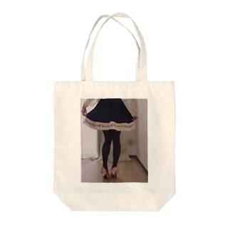 秋脚の刑 Tote bags