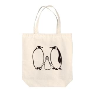 親子エンペラー(ポジ・黒いver) Tote bags