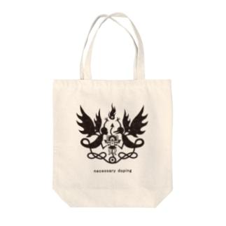erubakki_doping Tote bags