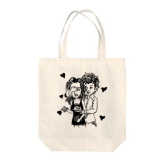 Lover Tote bags