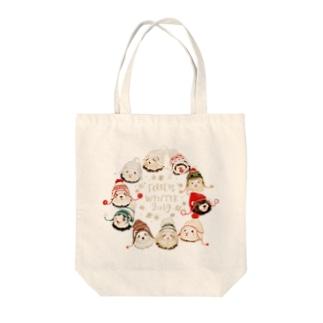 いちごだわし🐹のチャリティグッズ*Winterferrets2019 Tote bags