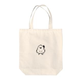 シマエナガちゃん Tote bags