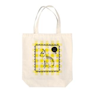 かわいいマーラ Tote bags