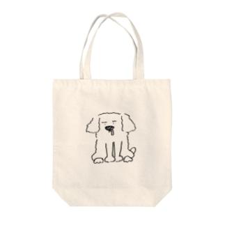 うちのワンコ Tote bags