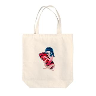だきまくら… Tote bags