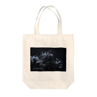 蒼花 Tote bags
