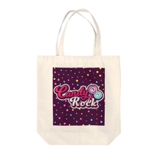 Candy RockのCandy Rock LOGO Tote bags