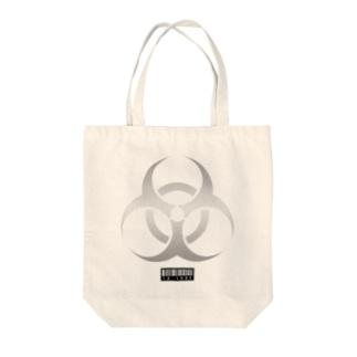 BIOHAZARD -1- Tote bags