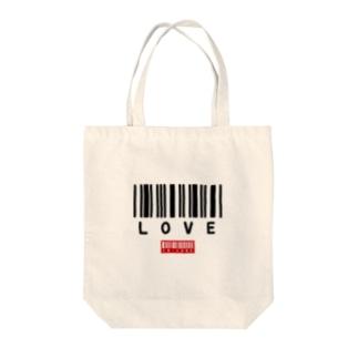 LOVE -1- Tote bags