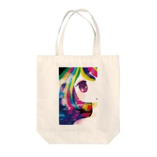 少女の中にある幻覚 Tote bags