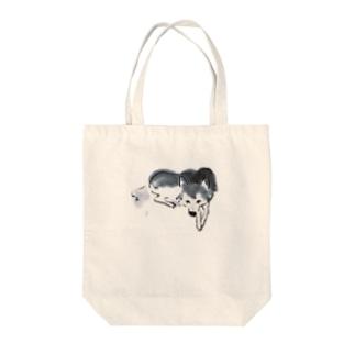 シバイヌsumi-shiba Tote bags