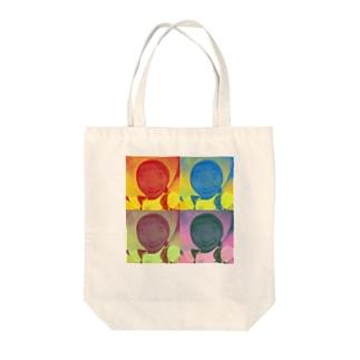 ジーニーゴサエ Tote bags
