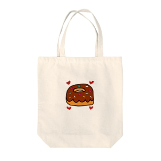 CHOCOバッジ Tote bags