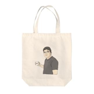 佐藤さん Tote bags