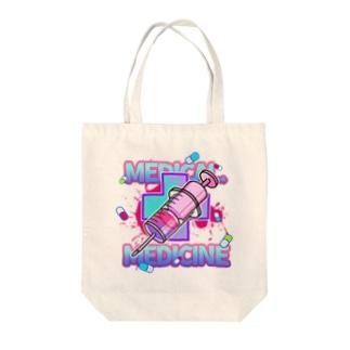 medical medicine Tote bags