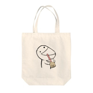 あたまのわるいひと Tote bags
