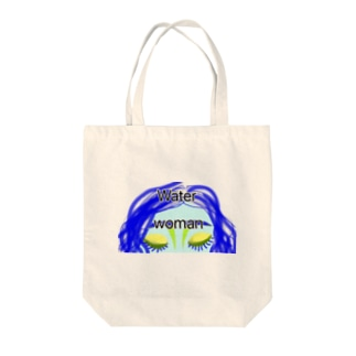 Water woman② Tote bags