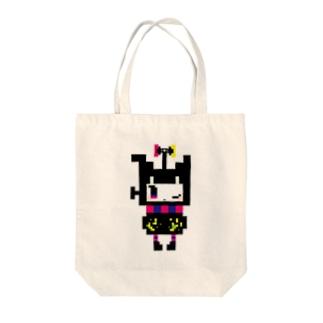 マジョホネ(ドット) Tote bags