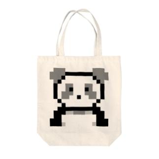 ぱんだちゃん Tote bags