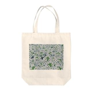 しろ色畑 Tote bags