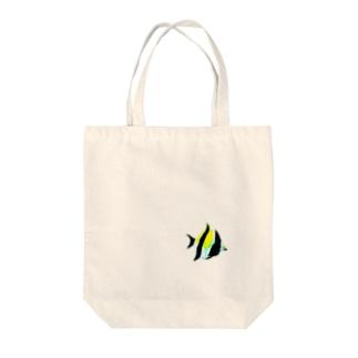 エンゼルフィッシュ Tote bags