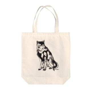 MEGANE-Dog. Tote bags