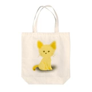 子犬 Tote bags