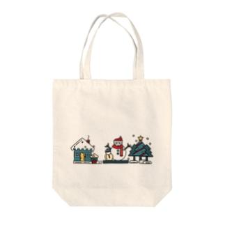 冬の風物詩 Tote bags