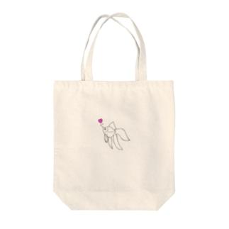 金魚 Tote bags