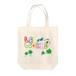 """LES WORLD OFFICIAL GOODSの""""Happiness"""" - LES WORLD 1year anniversary OFFICIAL GOODS byユウスケ Tote bags"""