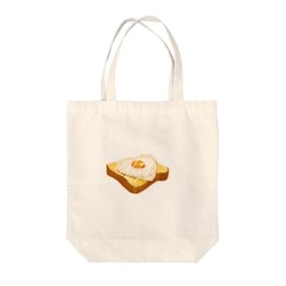 目玉焼きパンンンン Tote bags