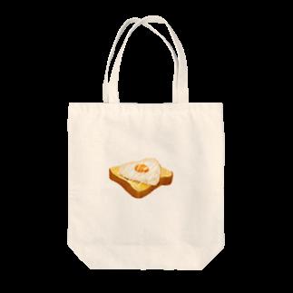 EM6.2の目玉焼きパンンンン Tote bags