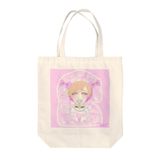 blindrabbitのblindrabbit OFFICIAL GOODS Tote bags